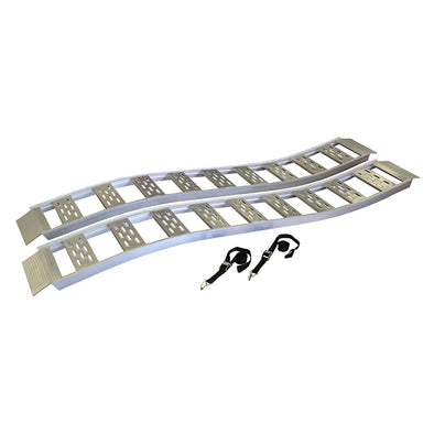 Fixed S-Curve Ramp with Treads - 2 pack