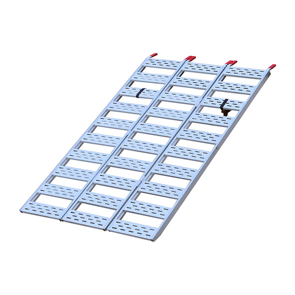 Tri-Fold Ramp with Treads