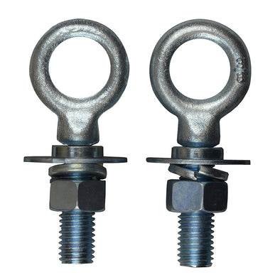 Light Duty Forged Bed Bolts - Removable - 2 pack