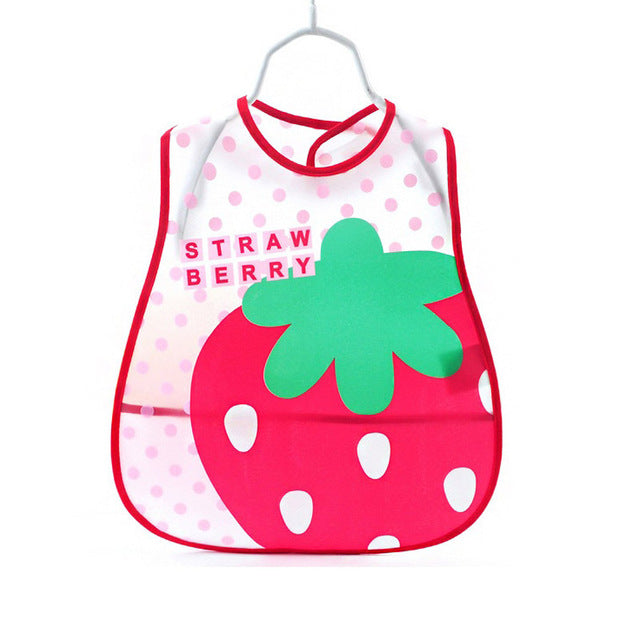 Cute Cartoon Baby Bibs EVA Waterproof