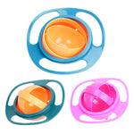 360 Rotate Spill-Proof Bowl Baby Feeding Dish