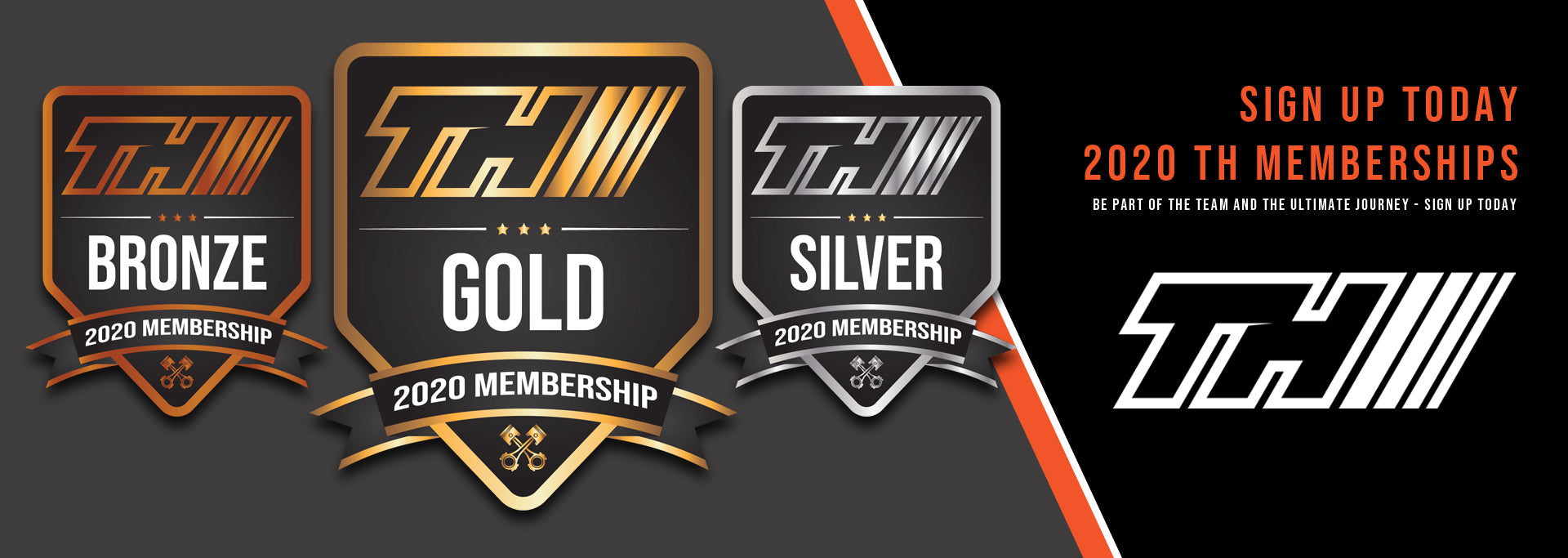 Order Today - 2020 TH Memberships - Be part of the team and the ultimate journey - Sign Up Today