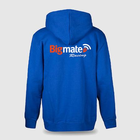 Bigmate Racing Team Zip Hoodie - Adult