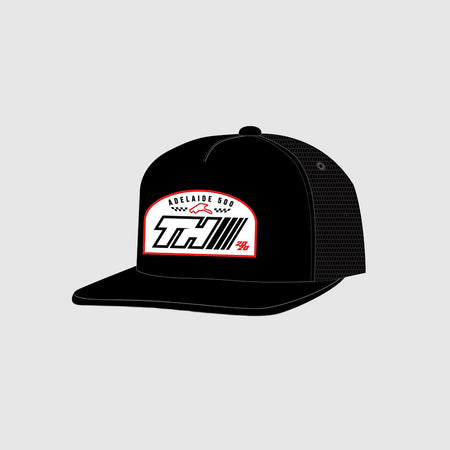TH / Adelaide 500 Black Flat peak Snapback
