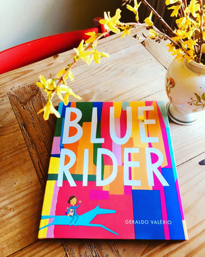 Wordless Book - Blue Rider