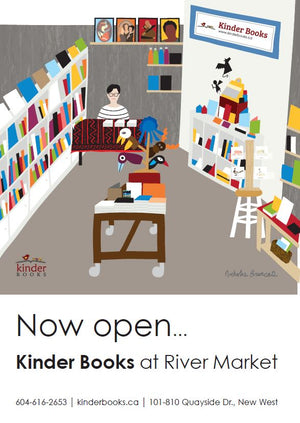 Kinder Books opens its first Brick-and-Mortar Store!