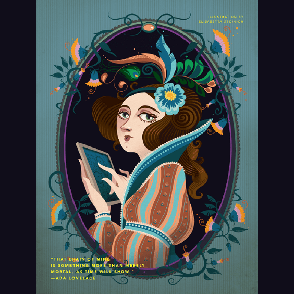 Rebel Girls Poster: Ada Lovelace