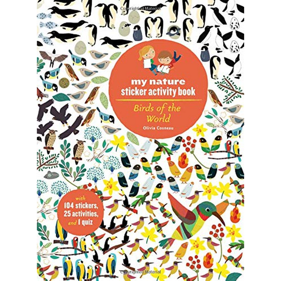 Birds of the World: My Nature Sticker Activity Book
