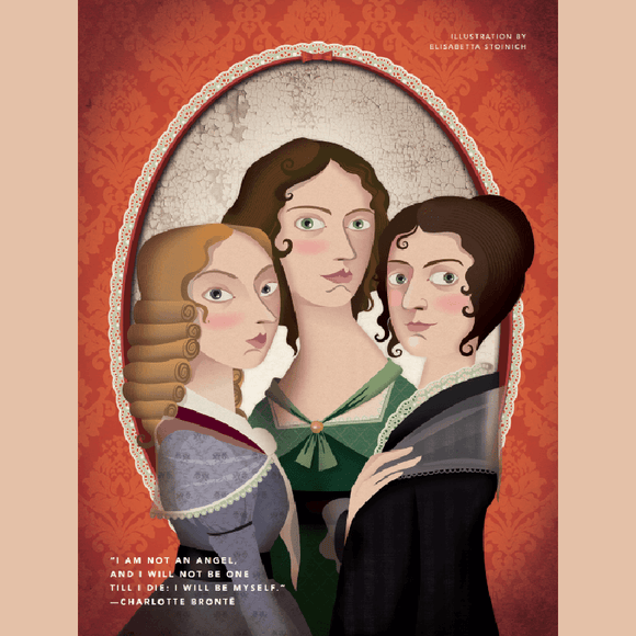 Rebel Girls Poster: Bronte Sisters