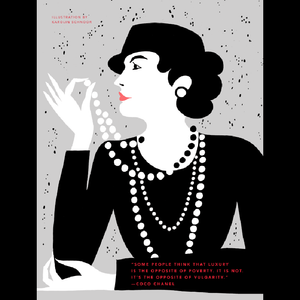 Rebel Girls Poster: Coco Chanel