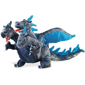 Three-Headed Blue Dragon