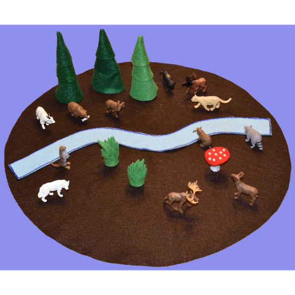 Forest Felt Play Mat