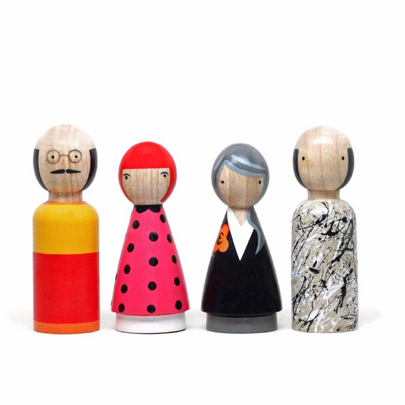 Modern Artists II - Wooden Dolls