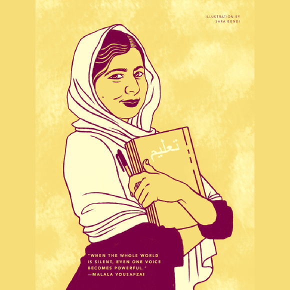 Rebel Girls Poster: Malala Yousafzai