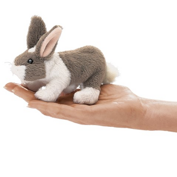 Mini Bunny Rabbit - Finger Puppet