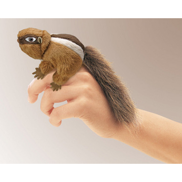 mini Chipmunk - Finger Puppet