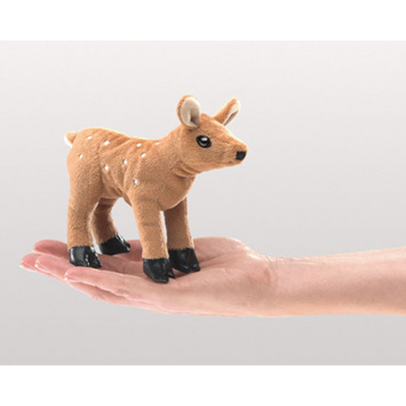 mini Fawn - Finger Puppet