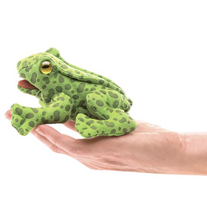 mini Frog - Finger Puppet