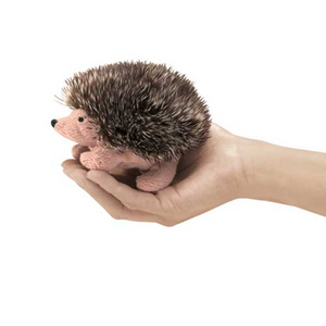 mini Hedgehog - Finger Puppet