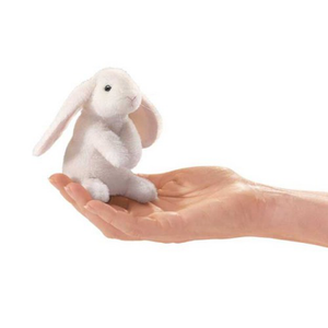 mini Lop Ear Bunny- Finger Puppet