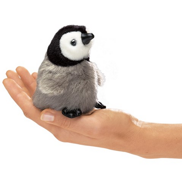 Mini Emperor Penguin - Finger Puppet