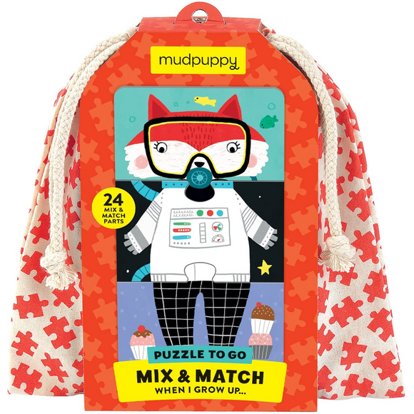 When I Grow Up Mix & Match Jigsaw Puzzle