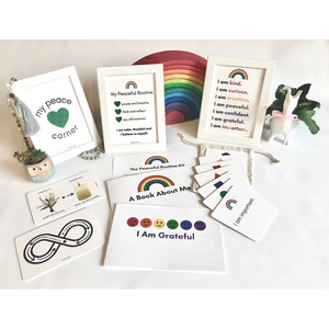 Montessori Peaceful Routine and Affirmation Card Kit