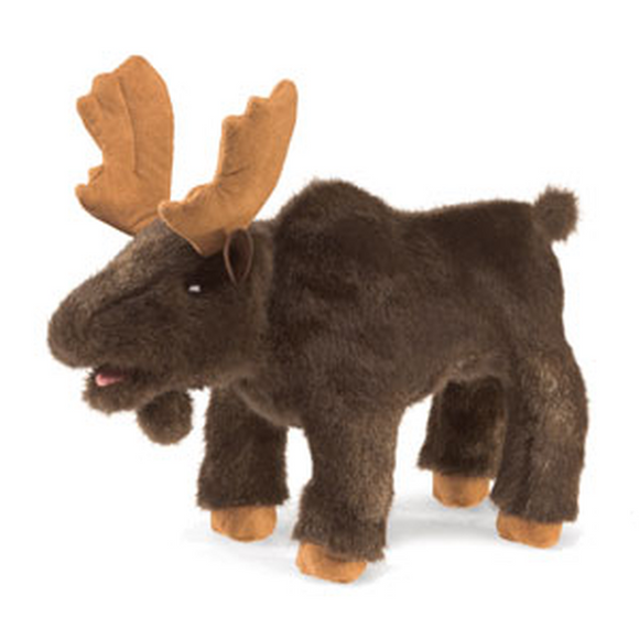 Small Moose - Hand Puppet