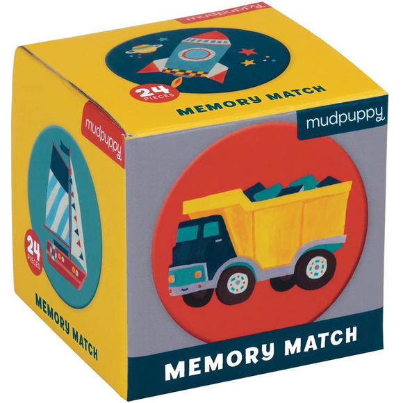 Transportation Mini Memory Matching Game