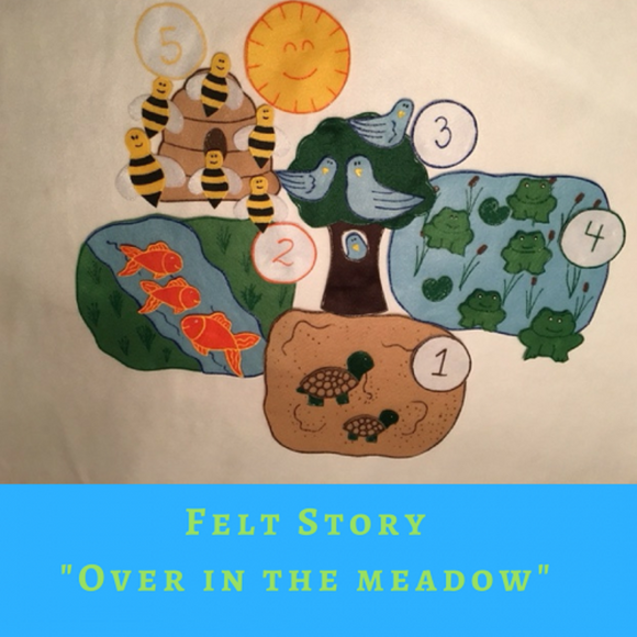 Over in the Meadow - Felt Story