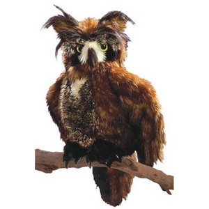 Great Horned Owl - Hand Puppet