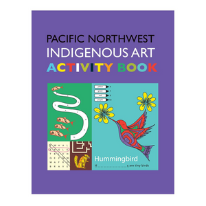 Pacific Northwest Indigenous Art Activity Book