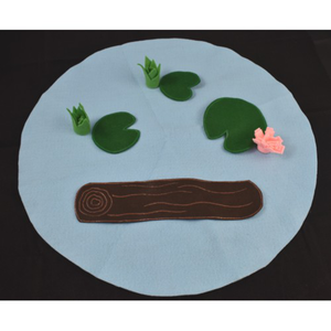 Pond Felt Play Mat