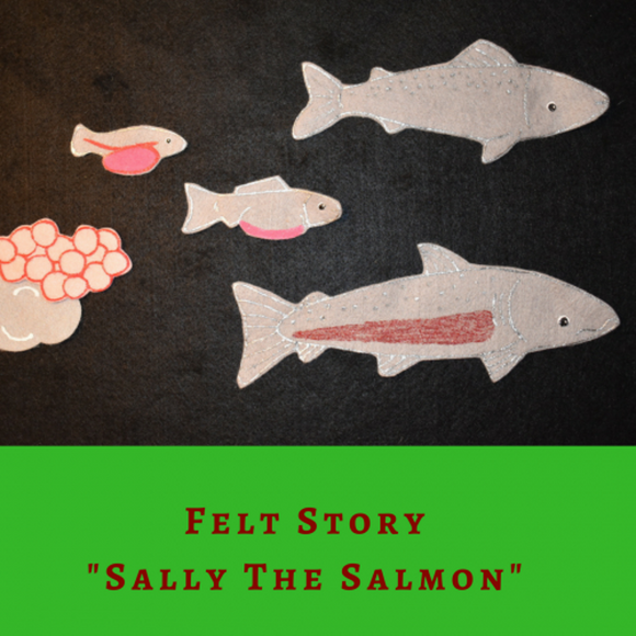 Sally the Salmon - Felt Story