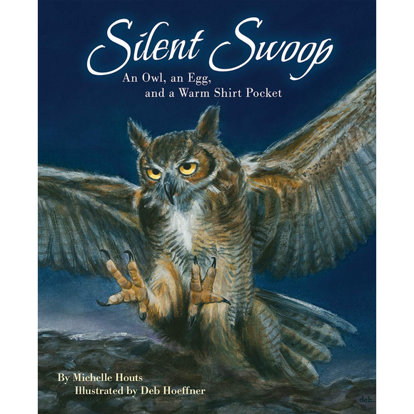 Silent Swoop: An Owl, an Egg, and a Warm Shirt Pocket