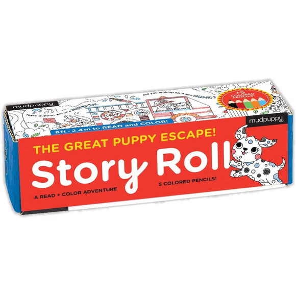 The Great Puppy Escape! - Story Roll