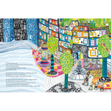 The House of Happy Spirits A Children's Book Inspired by Friedensreich Hundertwasser