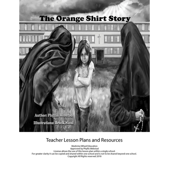 The Orange Shirt Story Teacher Lesson Plan