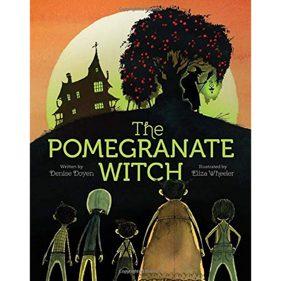 The Pomegranate Witch (Halloween Children's Books, Early Elementary Story Books, Scary Stories for Kids)