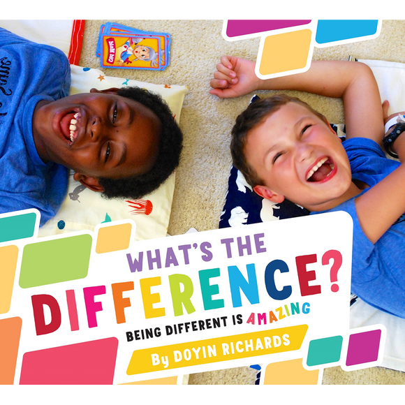 What's the Difference?: Being Different Is Amazing