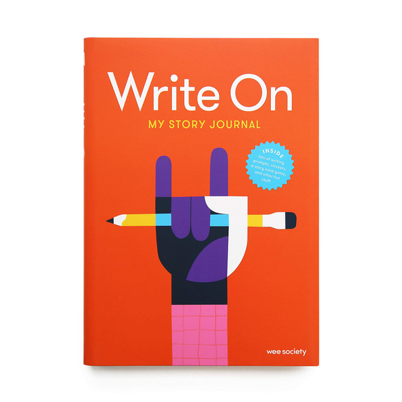 Write On: My Story Journal: A Creative Writing Journal for Kids Diary