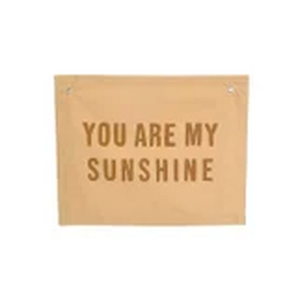 You are my sunshine Banner - Multiple Colour Options