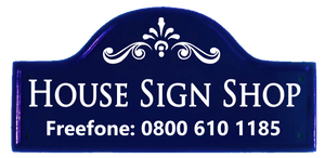 House Sign Shop - home of quality personalized house names & number plaques