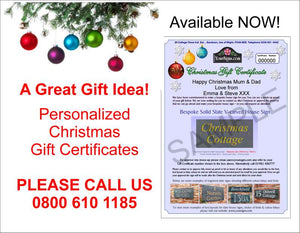 House sign gift certificate banner
