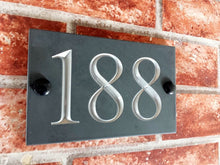 Three digit house number sign  160mm x 100mm - House Sign Shop