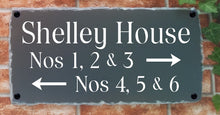 Large Multi-line Rustic House Plaque - House Sign Shop