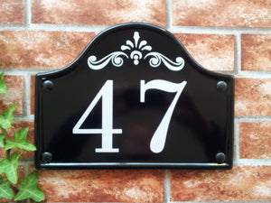 Medium Bridge Top House Plaque - 290mm x 220mm - House Sign Shop