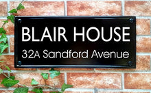 Large Multi Line Classic Rectangle House Name Sign - 445mm x 200mm - House Sign Shop