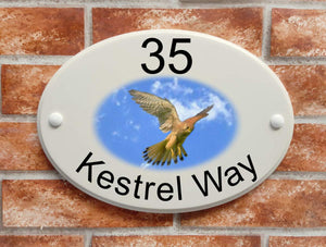 Kestrel House Sign - House Sign Shop