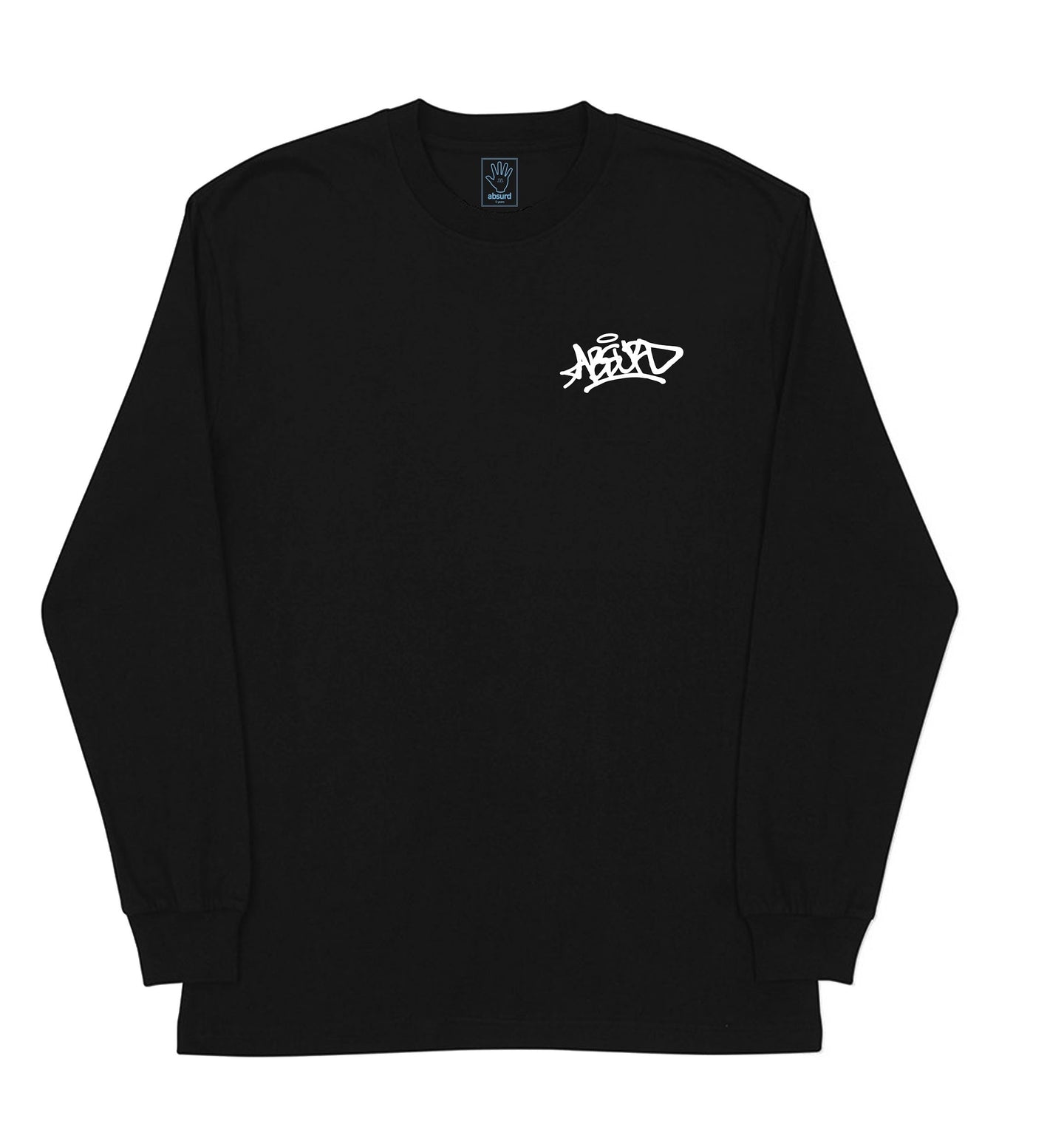 GRAFFITI LONG SLEEVE (BLACK)